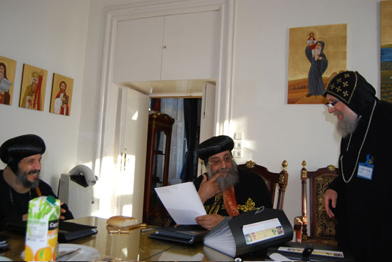 vienna with Pope Tawadrous8